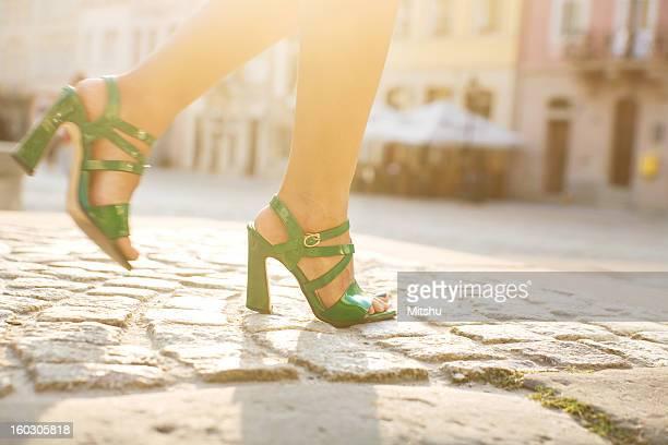 Woman Walking on Dirt Road · Free Stock Photo