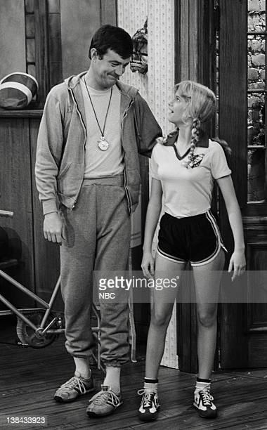 LIFE 'Running' Episode 11 Aired 3/21/80 Pictured John Lawlor as Headmaster Steven Bradley Julie Piekarski as Sue Ann Weaver