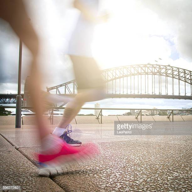 Running in Sydney, Australia