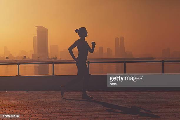 Laufen am Morgen