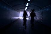 Running into the light
