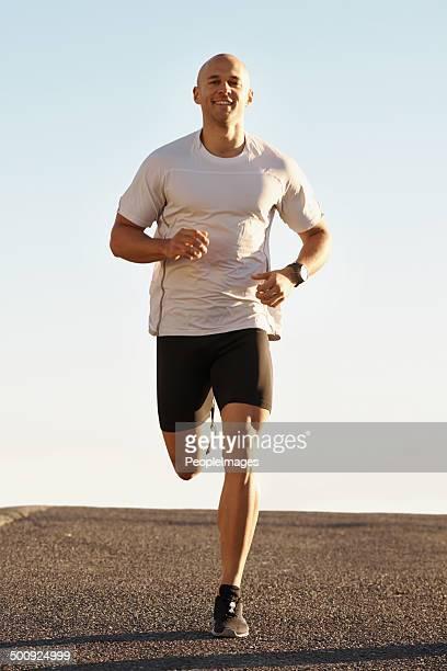 Courir est la seule façon de la vie
