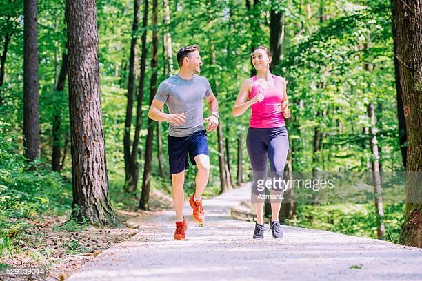 Courir est une routine quotidienne
