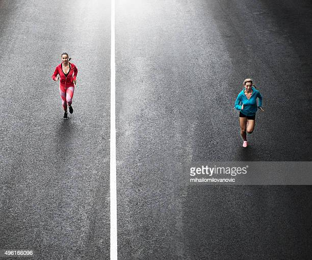 Running on the streets