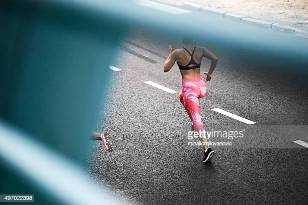 Course sur la rue