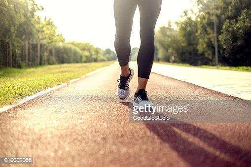 Running on tracks
