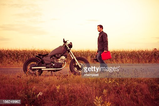 Running out of gas : Stock Photo