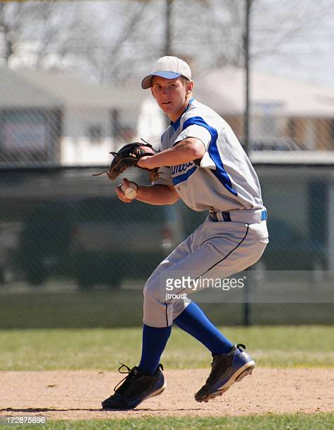 Running pitcher for baseball team