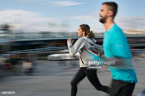 Running speed