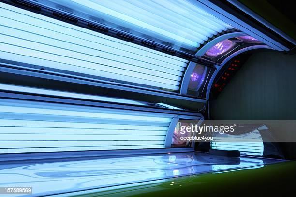 running tanning bed