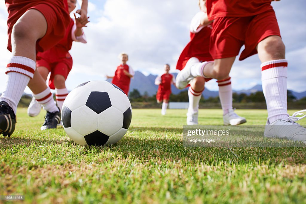 Running the game : Stock Photo