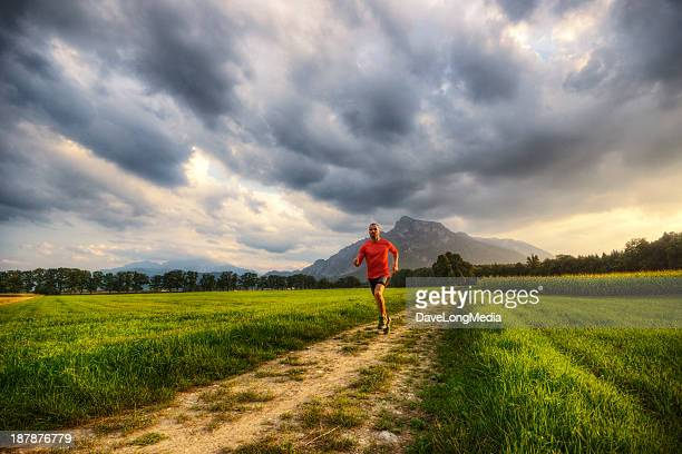 Running Through Alpine Valley
