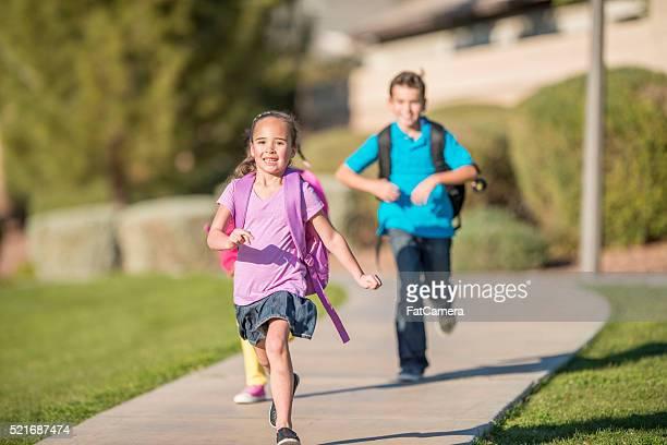 Running to Class