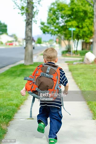 running zur Schule