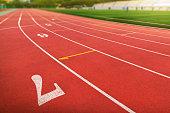 School Gymnasium, Stadium, Playing Field, Running Track, Track And Field