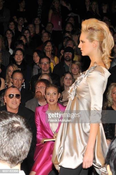 Runway at Peace Market 2009 For SEEDS OF PEACE Hosted by IVANKA TRUMP at February 19 on February 20 2009