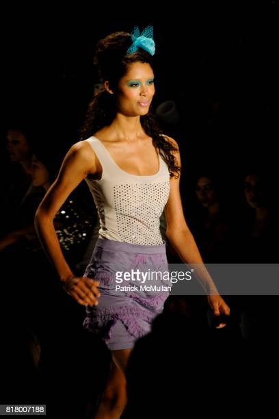 Runway at the Richie Rich 2011 Fashion Show at The Studio at Lincoln Center on September 9 2010 in New York City