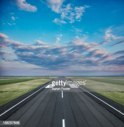 Runway landing strip
