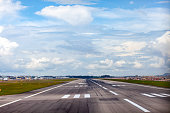 Runway of the airport