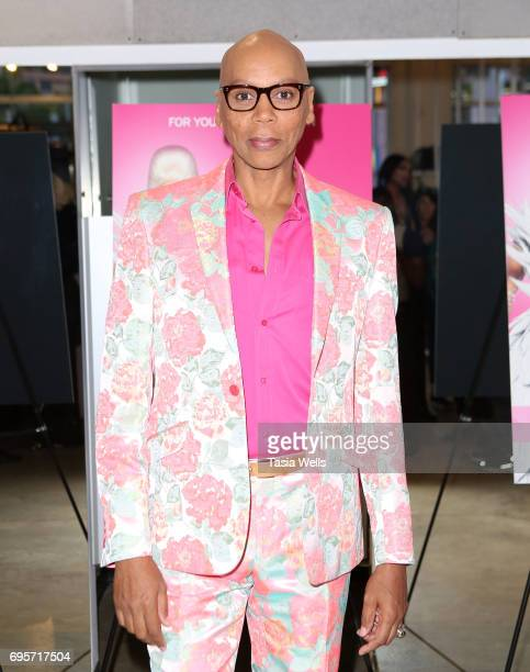 RuPaul attends 'RuPaul's Drag Race' FYC Costume Exhibit at LASC on June 12 2017 in West Hollywood California
