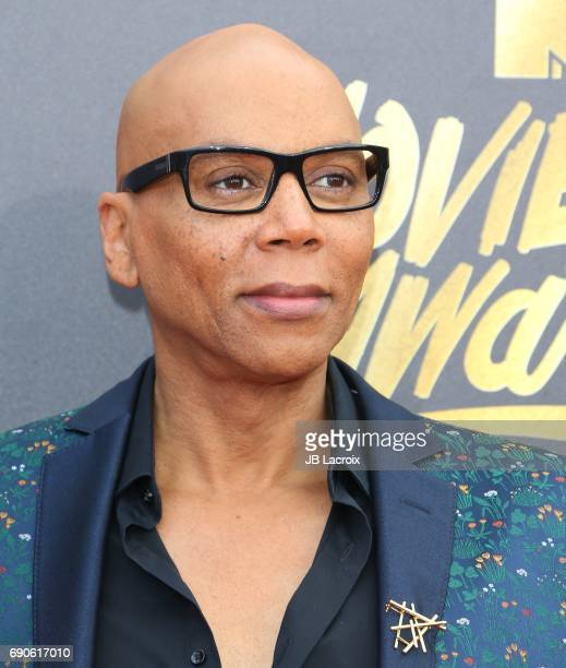RuPaul attends the 2017 MTV Movie and TV Awards at The Shrine Auditorium on May 7 2017 in Los Angeles California