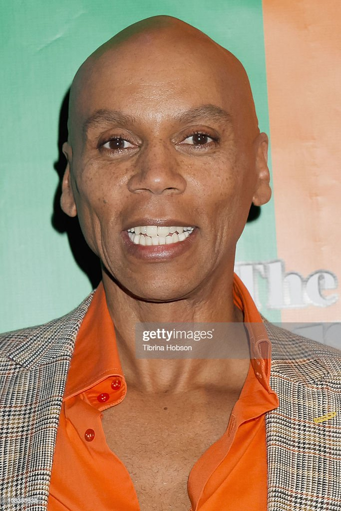 RuPaul attends the 'World Of Wonder' book release party at Universal Studios Backlot on December 13, 2012 in Universal City, California.