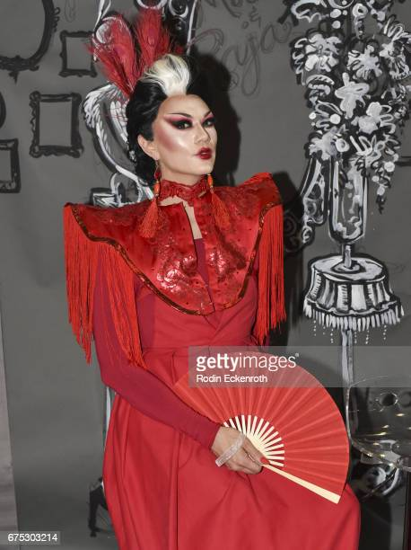 RuPaul's Drag Race Season 3 contestant Manila Luzon poses for portrait at the 3rd annual RuPaul's DragCon at Los Angeles Convention Center on April...