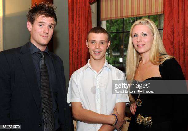 Rupert and Sophie Blackman the brother and sister of Lucie Blackman who was murdered in Japan in 2000 with George Borrett the son of Wendy Singh who...