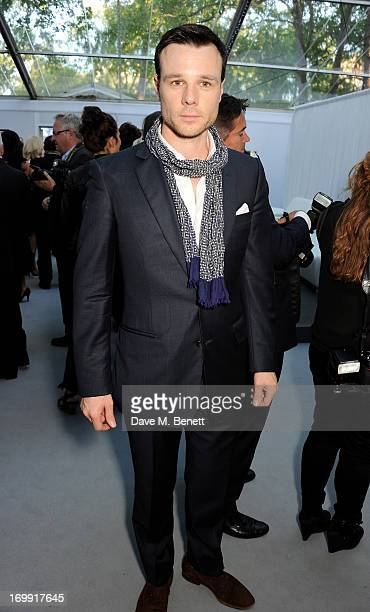 Rupert Evans arrives at the Glamour Women of the Year Awards in association with Pandora at Berkeley Square Gardens on June 4 2013 in London England