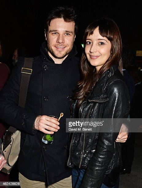 Rupert Evans attends an after party following the Gala Performance of 'The Ruling Class' at The Bankside Vaults on January 28 2015 in London England