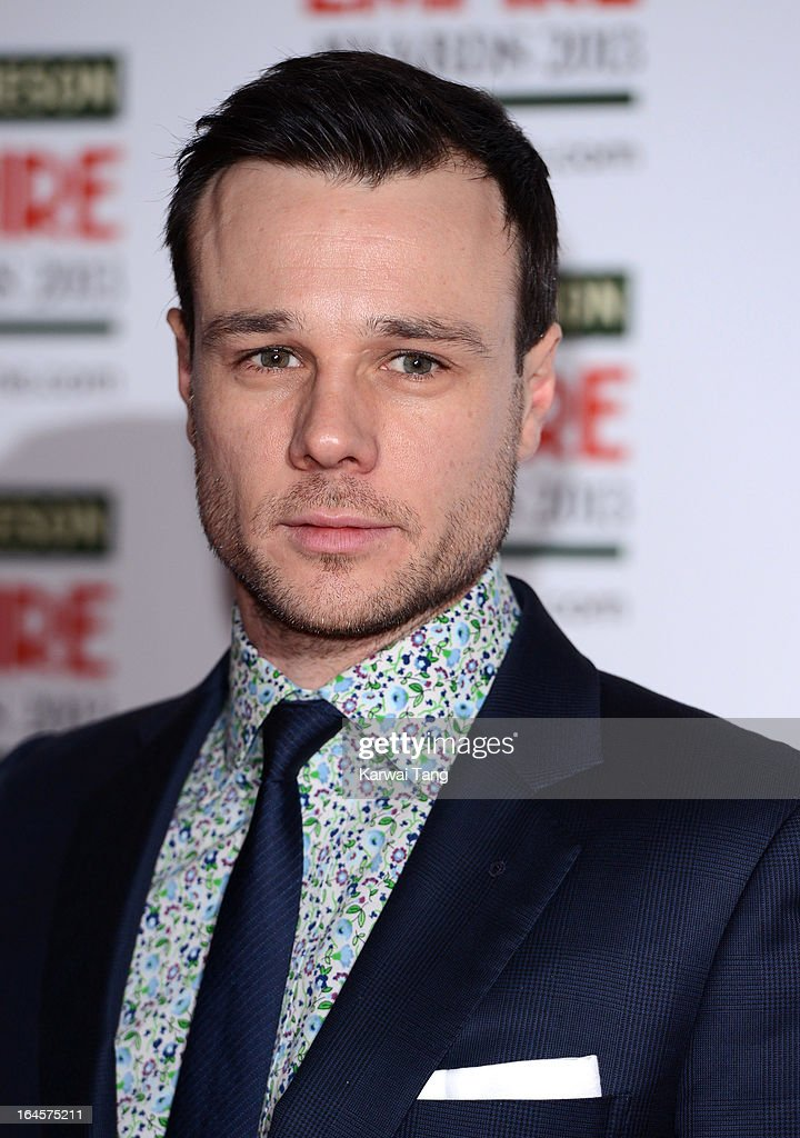 Rupert Evans attends the 18th Jameson Empire Film Awards at Grosvenor House, on March 24, 2013 in London, England.
