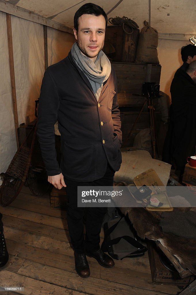 Rupert Evans attends the 'BALLY Celebrates 60 Years of Conquering Everest' at Bedford Square Gardens on January 7, 2013 in London, England.
