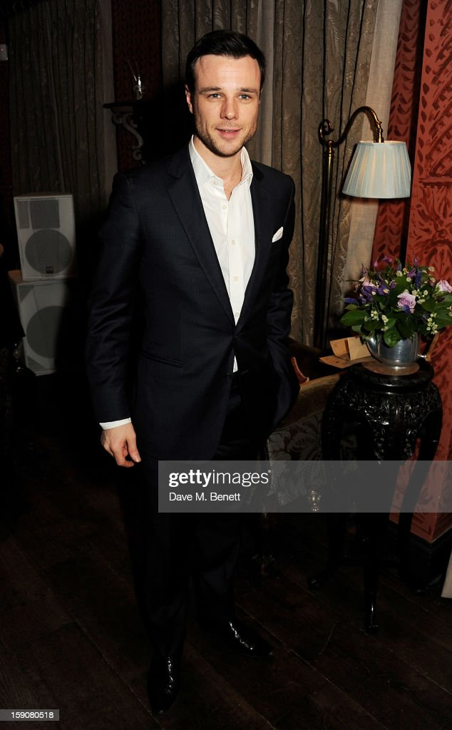 Rupert Evans attends the Esquire and Tommy Hilfiger party celebrating London Collections: MEN AW13, hosted by Esquire editor Alex Bilmes and Tommy Hilfiger, at the Zetter Townhouse on January 7, 2013 in London, England.