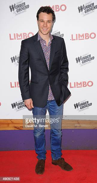Rupert Evans attends the press night performance of 'LIMBO' on May 15 2014 in London England