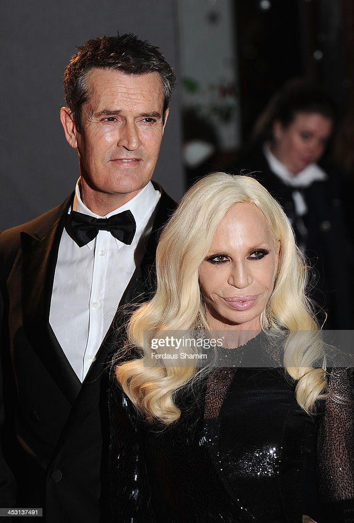 <a gi-track='captionPersonalityLinkClicked' href=/galleries/search?phrase=Rupert+Everett&family=editorial&specificpeople=206208 ng-click='$event.stopPropagation()'>Rupert Everett</a> and Donatella Versace attend the British Fashion Awards 2013 at London Coliseum on December 2, 2013 in London, England.