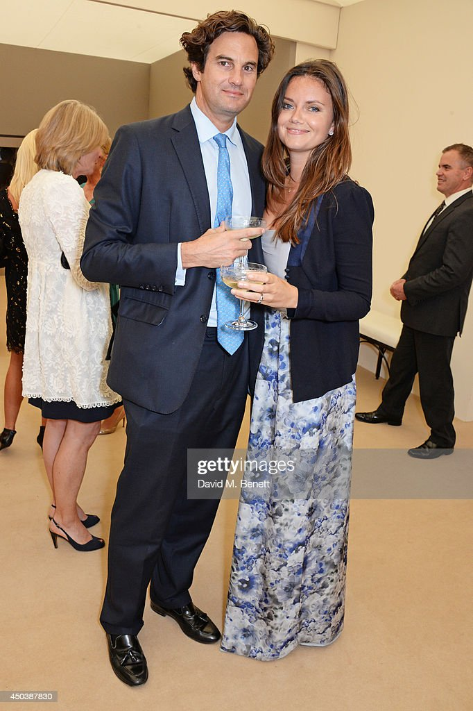 Rupert Finch (L) and Lady Natasha Rufus Isaacs attend the Art Antiques London Gala Evening in aid of Children In Crisis at Kensington Gardens on June 10, 2014 in London, England.
