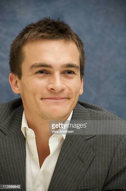 Rupert Friend at 'The Young Victoria' press conference at the Four Seasons Hotel on September 22 2009 in Beverly Hills California
