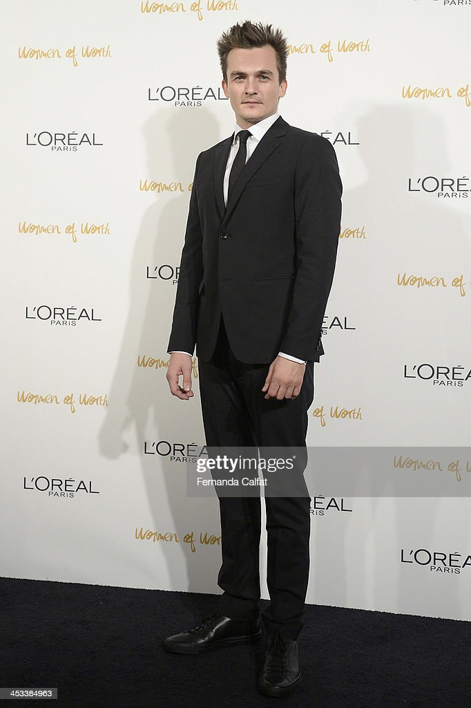 <a gi-track='captionPersonalityLinkClicked' href=/galleries/search?phrase=Rupert+Friend&family=editorial&specificpeople=830314 ng-click='$event.stopPropagation()'>Rupert Friend</a> attends L'Oreal Paris' Women of Worth 2013 at The Pierre Hotel on December 3, 2013 in New York City.