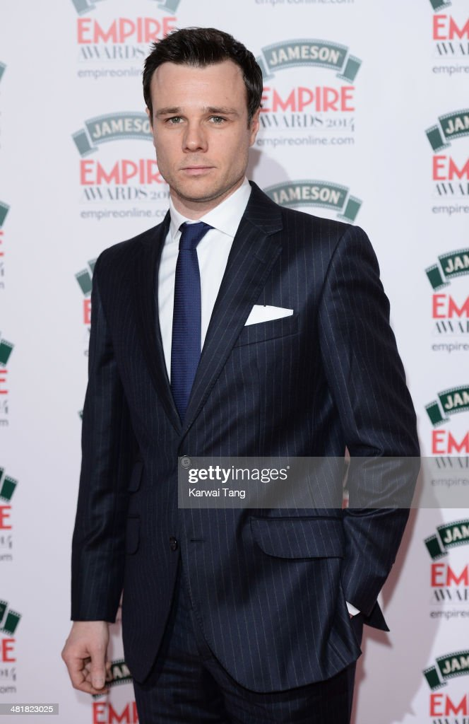 Rupert Friend attends the Jameson Empire Film Awards at Grosvenor House on March 30, 2014 in London, England.