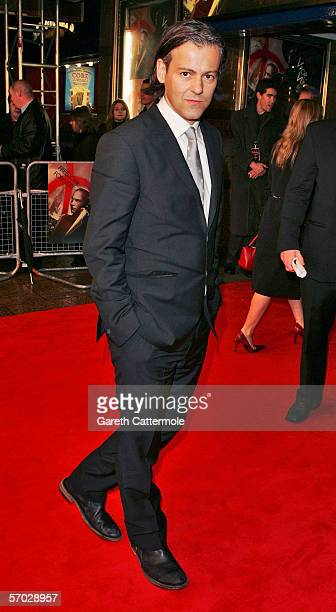 Rupert Graves arrives at the UK Premiere of 'V For Vendetta' at the Empire Leicester Square on March 8 2006 in London England The film is based on...