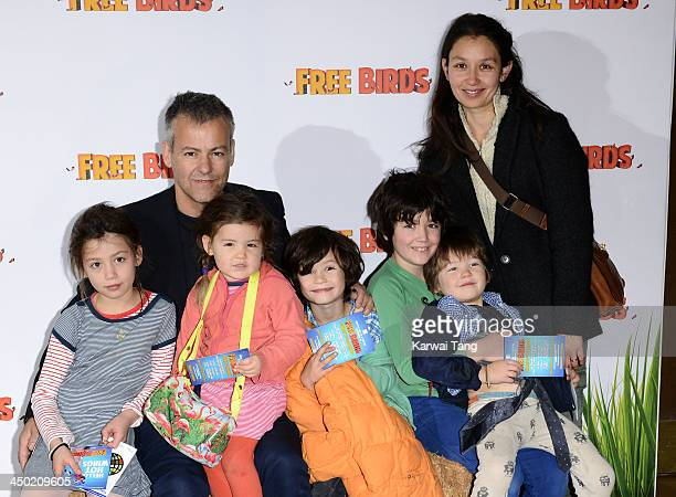 Rupert Graves arrives for the Screening of 'Free Birds' held at the May Fair Hotel on November 17 2013 in London England