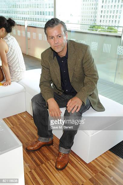 Rupert Graves attends the Swarowski pre party to the opening night of The Wizard of Oz at the Royal Festival Hall on July 29 2008 in London England