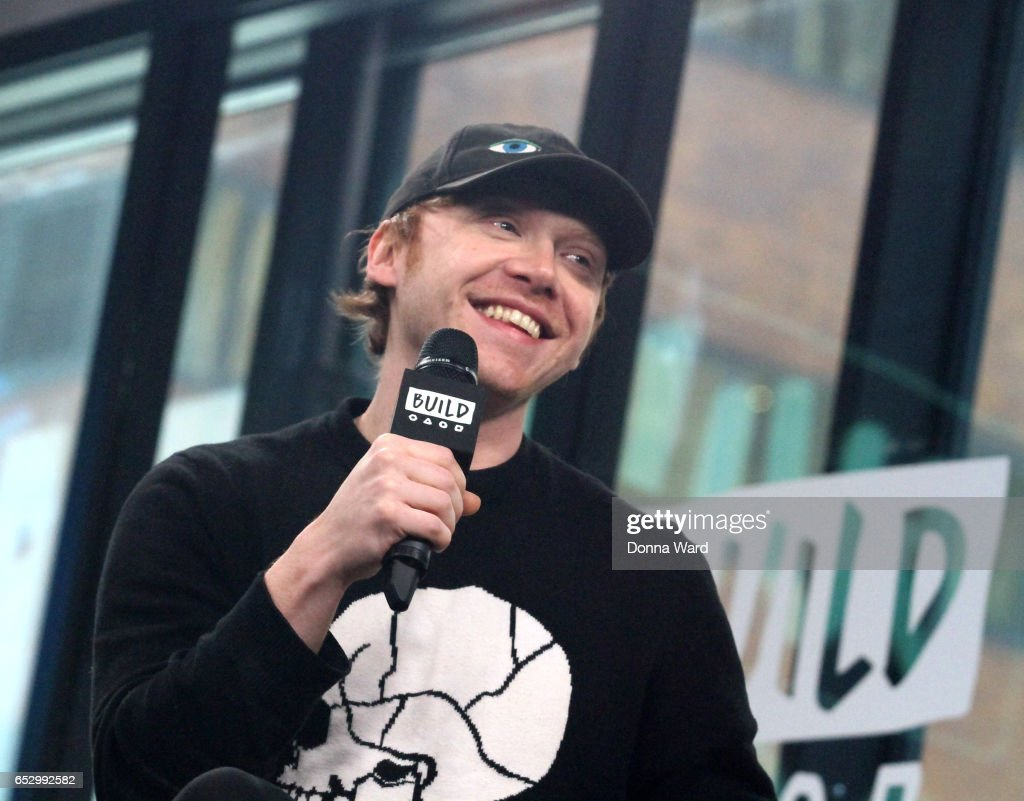 Rupert Grint appears to promote 'Snatch' during the BUILD Series at Build Studio on March 13, 2017 in New York City.