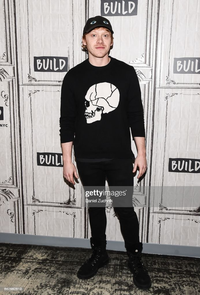 Rupert Grint attends the Build Series to discuss the new show 'Snatch' at Build Studio on March 13, 2017 in New York City.
