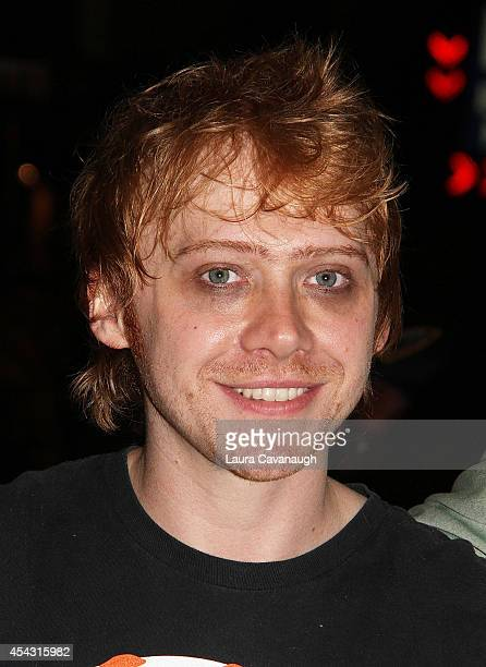 Rupert Grint attends the 'It's Only A Play' first performance at The Schoenfeld Theatre on August 28 2014 in New York City