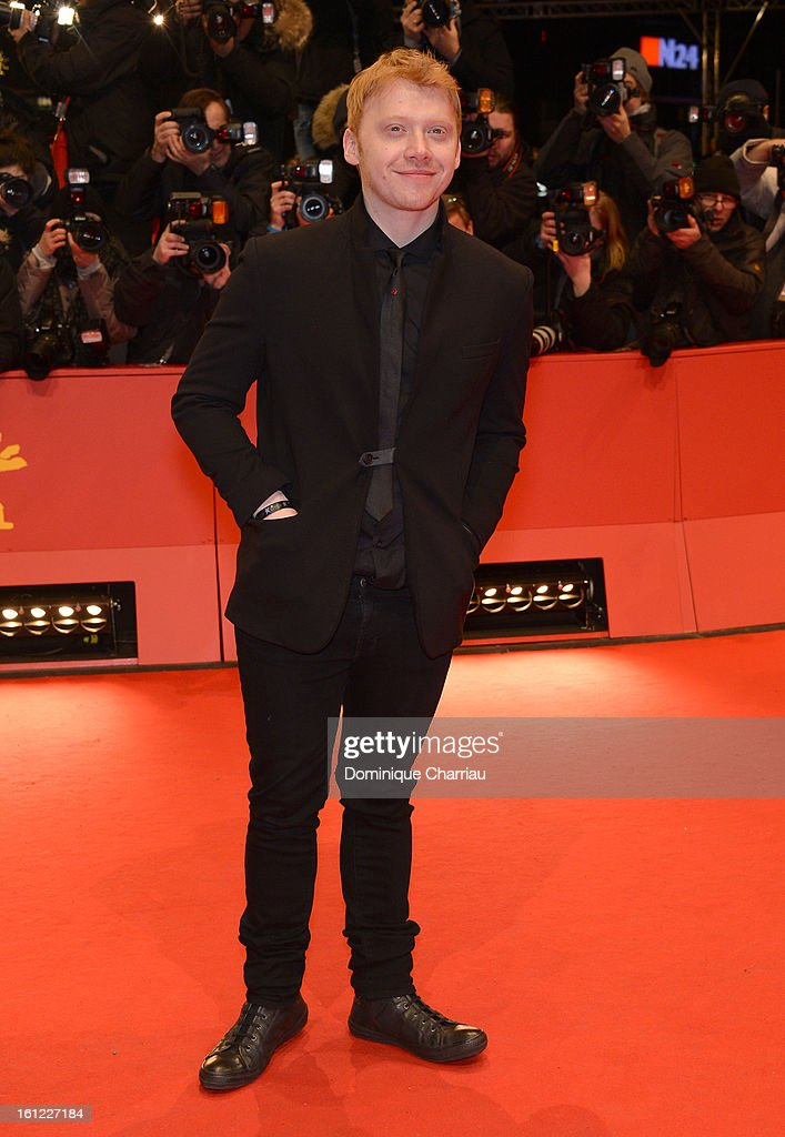 Rupert Grint attends 'The Necessary Death of Charlie Countryman' Premiere during the 63rd Berlinale International Film Festival at the Berlinale Palast on February 9, 2013 in Berlin, Germany.
