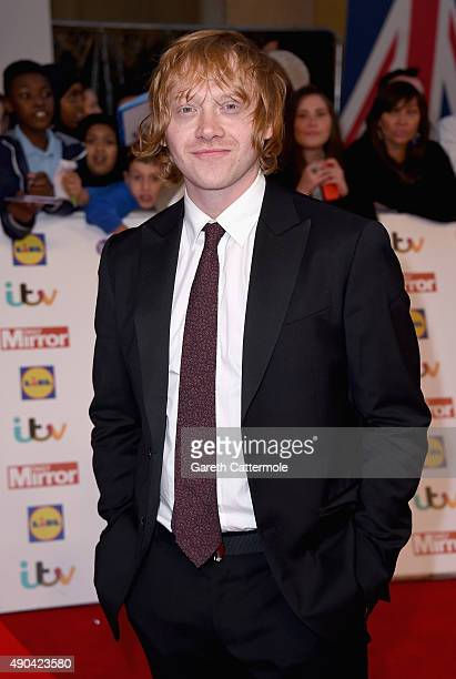 Rupert Grint attends the Pride of Britain awards at The Grosvenor House Hotel on September 28 2015 in London England