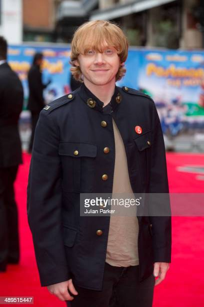 Rupert Grint attends the UK Premiere of 'Postman Pat' at Odeon West End on May 11 2014 in London England