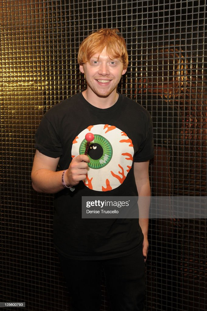Rupert Grint Hosts Autograph Signing At Sugar Factory At Paris Las Vegas