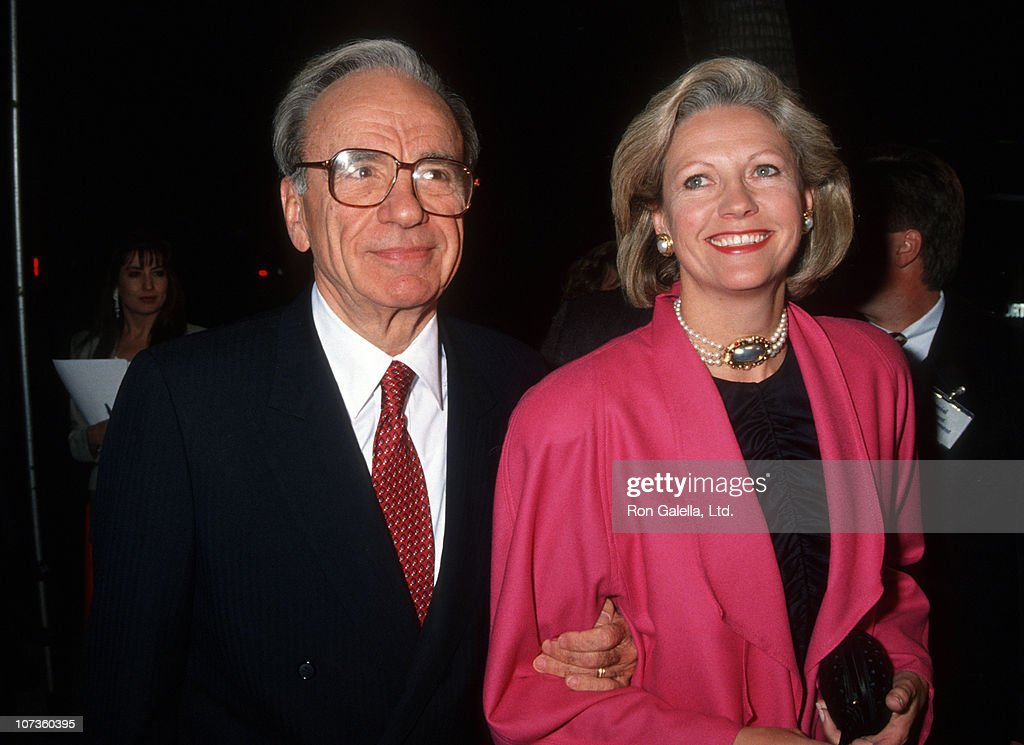 <a gi-track='captionPersonalityLinkClicked' href=/galleries/search?phrase=Rupert+Murdoch&family=editorial&specificpeople=160571 ng-click='$event.stopPropagation()'>Rupert Murdoch</a> and Anna Murdoch during Los Angeles Premiere of 'Hoffa' to Benefit Tripod Hoffa at Academy Theatre in Beverly Hills, California, United States.